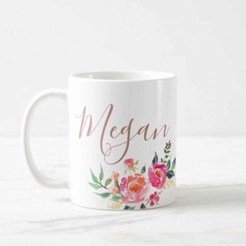 personalized name monogrammed too coffee mug