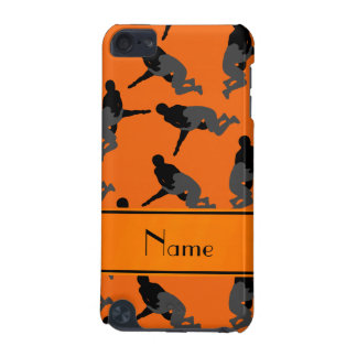 Personalized name orange wrestling iPod touch 5G cases