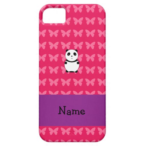 Personalized name panda iPhone 5 covers