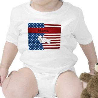Personalized name Patriotic seal T Shirt