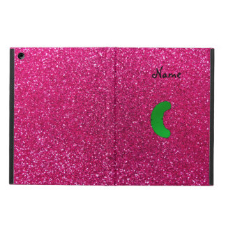 Personalized name pickle pink glitter iPad air cases