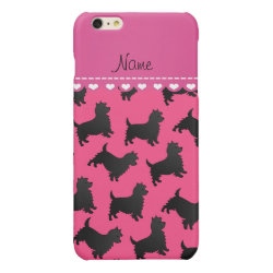 Case Savvy iPhone 6 Plus Glossy Finish Case with Cairn Terrier Phone Cases design