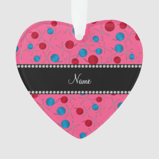 Personalized name pink crochet pattern