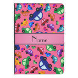 Personalized name pink cute car pattern kindle 4 case