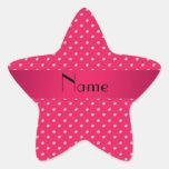 Personalized name pink diamonds sticker