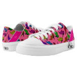 Personalized name pink rainbow vintage shoes printed shoes