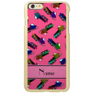 Personalized name pink snowmobiles incipio feather® shine iPhone 6 plus case