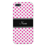 Personalized name Pink stars iPhone 5 Cover