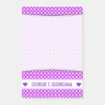 [ Thumbnail: Personalized Name; Purple Dots/Circles Pattern Notes ]