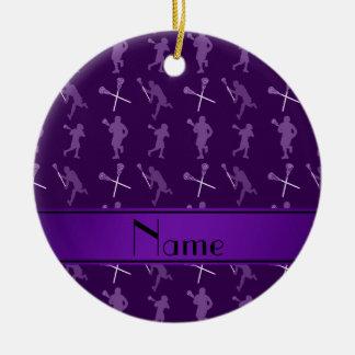 Lacrosse Ornaments  Keepsake Ornaments  Zazzle