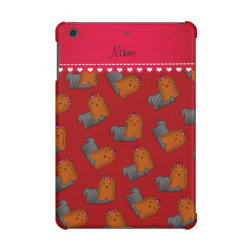 Case Savvy Glossy Finish iPad Mini Retina Case with Yorkshire Terrier Phone Cases design