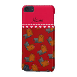 Case-Mate Barely There 5th Generation iPod Touch Case with Yorkshire Terrier Phone Cases design