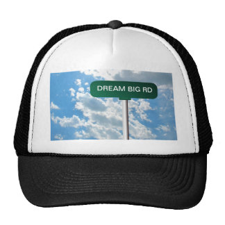Personalized Name Road Street Sign on Blue Sky Trucker Hat