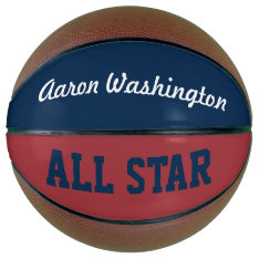 Personalized Name Sports Basketball Gift at Zazzle