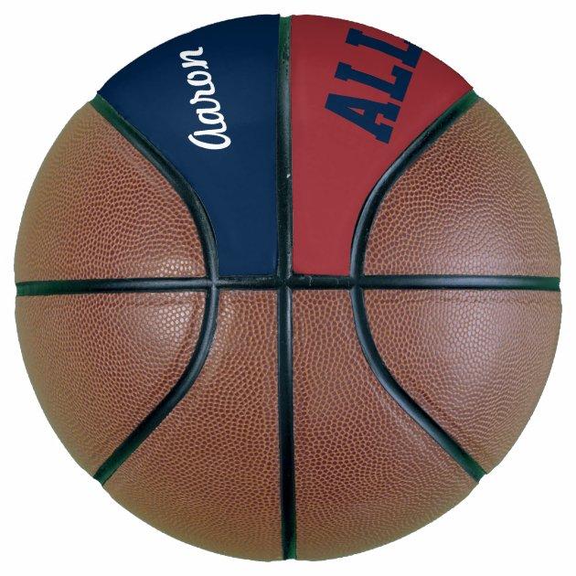 Personalized Name Sports Basketball Gift | Zazzle
