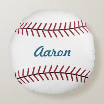 Personalized Name Sports Kids Baseball Pillow