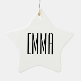 Personalized Name Star Ornament Coworker Gift