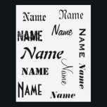 "Personalized Name Temporary Tattoos<br><div class=""desc"">Personalized name tattoos.</div>"