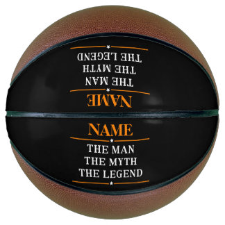 Personalized Name The Man The Myth The Legend Basketball