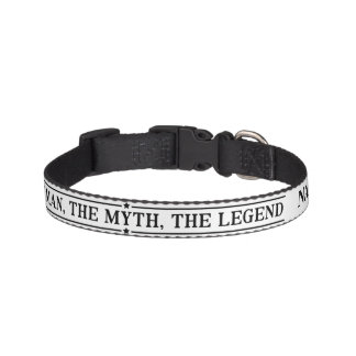 Personalized Name The Man The Myth The Legend Pet Collar