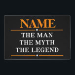 """Personalized Name The Man The Myth The Legend Placemat<br><div class=""""desc"""">Personalized Name The Man The Myth The Legend</div>"""