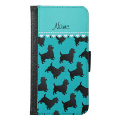 Galaxy S6 Wallet Case with Cairn Terrier Phone Cases design