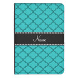 Personalized name Turquoise moroccan Kindle Case