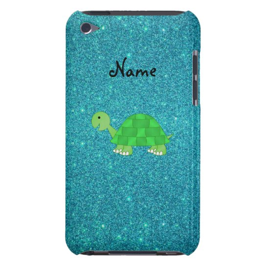 Personalized name turtle barely there iPod cover