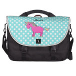 Personalized name unicorn bags for laptop