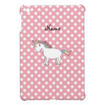Personalized name unicorn case for the iPad mini