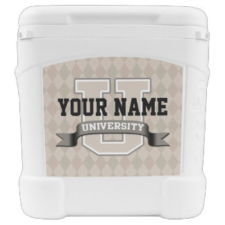 Personalized Name University Cool Funny College Cooler