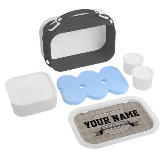 Personalized Name University Cool Funny College Lunch Box