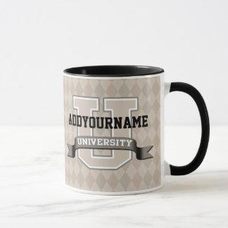 Personalized Name University Cool Funny Family Mug