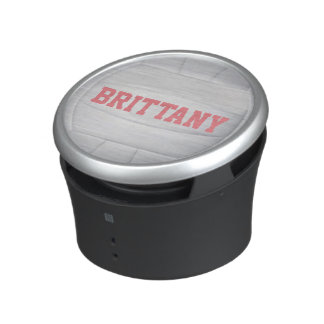 Personalized Name Volleyball Speaker