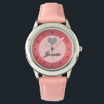 """Personalized Name Wrist Watch<br><div class=""""desc"""">Personalized Name Wrist Watch affords you the opportunity to create a watch with your name. Our customized name watch makes a fantastic gift for friends or family.</div>"""