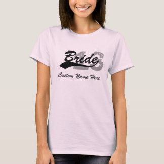 Personalized Name & Year Bride Shirt