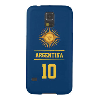Personalized Navy Argentina Sun of May Flag Case For Galaxy S5