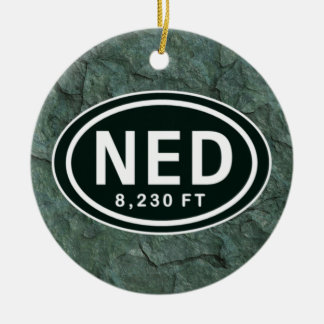 Personalized Nederland CO 8 230 FT NED Ornament