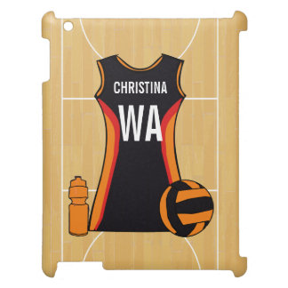 Personalized netball device case iPad case
