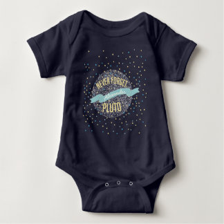 Personalized Never Forget Pluto Banner Tees