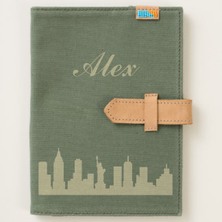 "Personalized ""New York"" Canvas Journal"