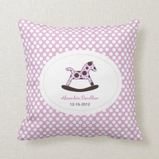 Personalized Newborn Pillow