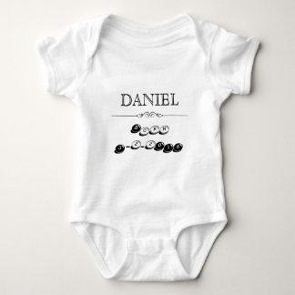 Personalized Newborn Shirt with Name and Birthdate