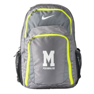 birthday Personalized Nike backpack with custom monogram