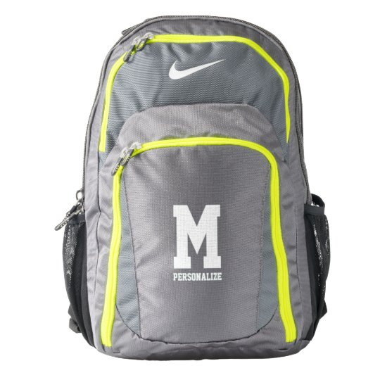 b1c8736f096d Personalized Nike backpack with custom monogram