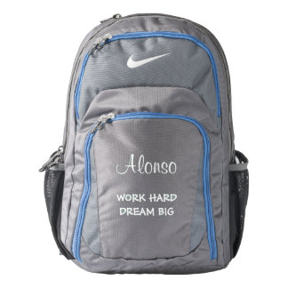 Personalized Nike Performance Backpack/Quote Nike Backpack