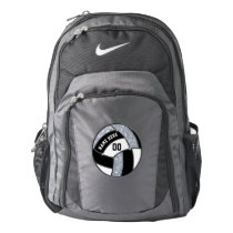 Personalized Nike Volleyball Backpack Black, White