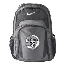 Personalized Nike Volleyball Backpacks, Your Text Backpack