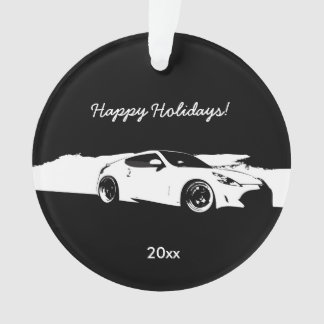 Personalized Nissan 370Z rolling shot