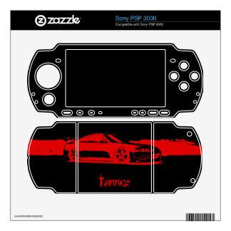 Personalized Nissan Silvia Decal For Sony PSP 3000